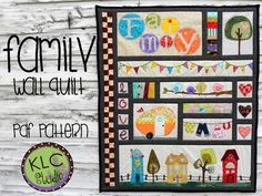 Looking for your next project? You're going to love Family Wall Quilt by designer Kerry Crawford.
