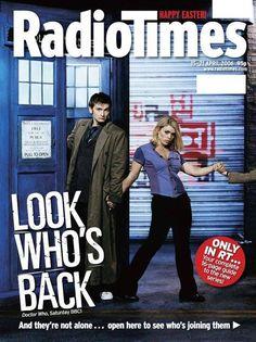 El doctor Who, Matt Smith, Peter Capaldi, David Tennant, Billie Piper, Radio…