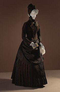 Vestido de novia de 1886 de EE.UU