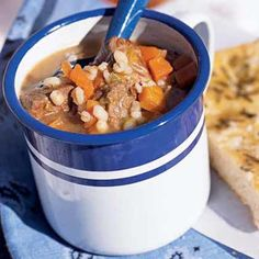 Lamb may be used in place of beef stew meat, if desired. Use one pound of boneless lamb leg, cut into one-inch pieces.