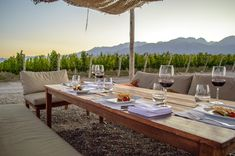 Argentina Wine Country: What to Sip & See, & Where to Sleep - The Road Les Traveled Mendoza, Sip And See, Relaxing Holidays, Travel Tags, Outdoor Tables, Outdoor Decor, Argentina Travel, Culinary Arts, Fruit Trees