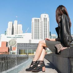Our block heeled booties are perfect for exploring the city.  * * * * * *  #fashion #ootd #fashiondiaries#fashionista #fashiongram #instafashion#fashionblogger #ootdmag #igfashion#ootdwatch #fashionpost #whatiwore#lotd #wiwt #currentlywearing #style#stylish #ootdmag #fashionblog #blog#fashionaddict #shoes #booties #potd #shoestagram
