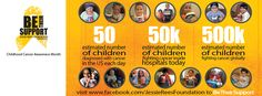 September is Childhood Cancer Awareness Month--Be their support and their voice