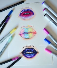 Juicy Lips by Lighane on DeviantArt