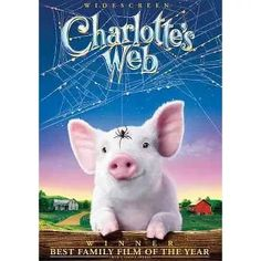 """Apple Picking with Our Kids ... Watch """"Charlotte's Web"""" on DVD ($5 at Target) During the Drive for a Fun Farm Theme! Family Deal, Charlottes Web, Picture Movie, Child Actors, Kid Movies, Paramount Pictures, Family Activities, Live Action"""