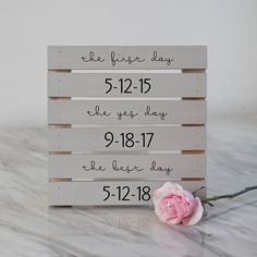 Check out this darling DIY love story wedding sign!