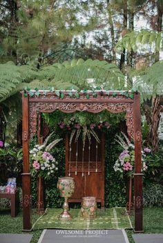Pernikahan Outdoor ala Dhanita dan Erik di Bumi Sangkuriang | The Wedding | The Bride Dept