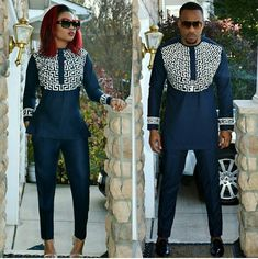 Couple Matching Outfits navy blue white african couple outfits matching african attire for couple Couple Matching Outfits. Here is Couple Matching Outfits for you. Couple Matching Outfits couples who make matching outfits look cute. African Fashion Designers, African Print Fashion, Africa Fashion, African Fashion Dresses, Ankara Fashion, African Outfits, African Clothes, African Attire, African Wear