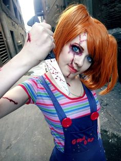 Child's Play: Fem Chucky by Puppetsfall #cosplay