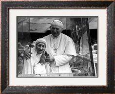 Pope John Paul II and Mother Teresa