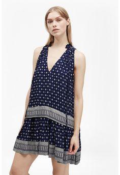 Castaway Drape Tiered Dress