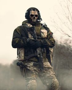 inc The Ghost of Verdansk 💀-Via Special Forces Gear, Military Special Forces, Call Off Duty, Call Of Duty Warfare, Soldado Universal, Ghost Soldiers, Call Of Duty World, Military Drawings, Superhero Design