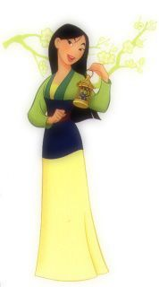 Mulan- before Brave, another strong woman with an intact family.