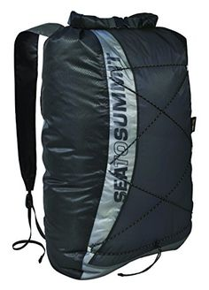 Sea to Summit UltraSil Dry Day Pack Black 22Liter -- You can get additional details at the image link.