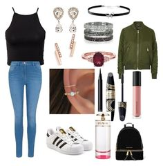 """Untitled #110"" by sdesir on Polyvore featuring NLY Trend, George, adidas Originals, Dolce&Gabbana, Zoë Chicco, Bernard Delettrez, Giani Bernini, Topshop, NARS Cosmetics and Max Factor"