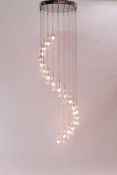 Luxe verlichting in hal  lighting fixtures  design