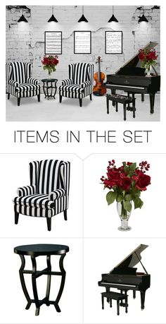 """Music Room"" by terry-tlc ❤ liked on Polyvore featuring art"
