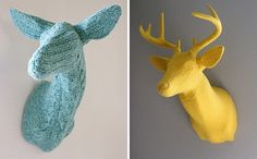 How awesome are these knitted animals?