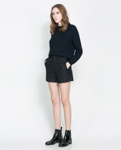 ZARA - WOMAN - HIGH-WAIST SHORTS