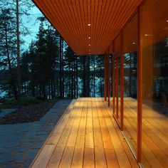 Villa K&Y by Meark Architects, www. Residential Lighting, Archipelago, Four Seasons, Ecology, Finland, Sustainability, Villa, Sidewalk, Contemporary