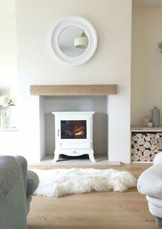 Small Living Room with Fireplace Awesome Minimalist Scandi Living Room Living Room Decor Ideas Scandi Living Room, Living Room Grey, Home Living Room, Living Room Designs, Living Room Decor, Cozy Living, Log Burner Living Room, Log Burner Fireplace, Living Room With Fireplace