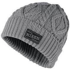 b8972e715ea Nixon - Heather Gray Retake Beanie Hat  mens  hats  christmas