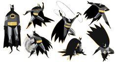 félin de la ritournelle: batman doodles