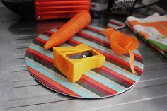 Apontador de cenoura!