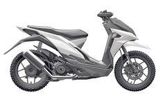 Honda sắp sản xuất xe ga mới