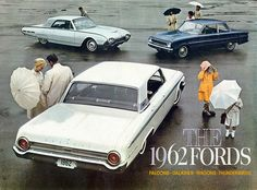 1962 Ford Galaxie 500, Falcon and Thunderbird | coconv | Flickr