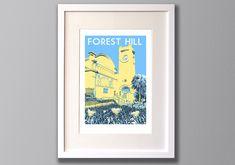 Forest Hill Art Print