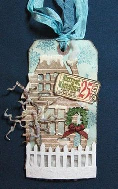Tim Holtz 12 Tags of Christmas 2010