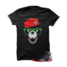 """ill Bear Marvin The Martian 2 Black T Shirt. The ill Bear Marvin The Martian Black T Shirt is a premium quality sneakerhead t shirt. It matches with the Air Jordan 7 Retro """"Marvin The Martian"""" Sneakers.***************************************************************illCurrency is a premium quality custom streetwear and sneakerhead clothing brand. For custom t shirts email: orders@illcurrency.com***************************************************************FOLLOW US ON INSTAGRAM:…"""
