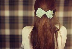 Fashion,Girl,Green,Photography,Ribbon - inspiring picture on PicShip.com