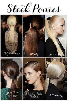 Absolutely love these day to night sleek hair styles!  Linen, Lace, & Love: beauty