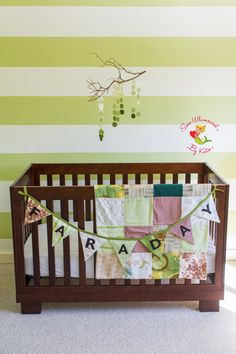 Custom Made Hand Tied Baby Quilt and by SewWhimsicalByKatie, $165.00