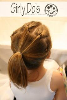 This could be a booth at a fair to raise money: a Crazy Hair Booth (Gymnastics… Girls Hairdos, Baby Girl Hairstyles, Trendy Hairstyles, Teenage Hairstyles, School Hairstyles, Everyday Hairstyles, Prom Hairstyles, Gymnastics Hair, Competition Hair