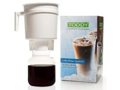 Toddy Cold Coffee Brewer - the ONLY way I will ever make iced coffee!  Lower acid and delicious.