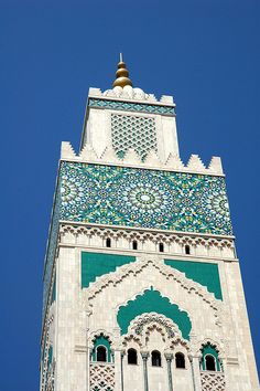 Morocco Minaret.  Absolutely stunning!