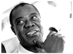Louis Armstrong...king of jazz