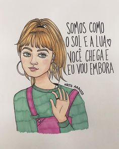 Art by Nath Araújo Bye Quotes, Funny Quotes, Funny Memes, Realistic Baby Dolls, Mo S, Girls Be Like, Cute Drawings, Picture Quotes, Haha