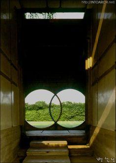 Tomba Brion via Brioni,Altivole Treviso, Italy/by Carlo Scarpa(1906~1978)19910716