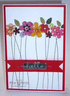 ...all things Moz: Hero Arts Tall Flowers