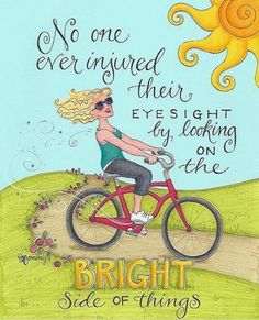Look on the Bright Side - Life Quotes - Positive Quotes - Inspirational Quotes - Enjoy Professional Spiritual Insights at the link. Happy Thoughts, Positive Thoughts, Positive Quotes, Motivational Quotes, Inspirational Quotes, Random Thoughts, Deep Thoughts, Meaningful Quotes, Positive Affirmations