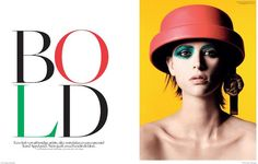 "The Incongruous: ""BOLD"" Milou Van Groesen for Vogue Nitherlands (Se..."