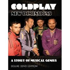 Having emerged from humble beginnings to become one of the biggest bands in the world, with a level of acclaim presently only matched by the likes of U2 and Radiohead, Coldplay are nothing short of a phenomenon. This two disc set both documents and celebrates the first 10 years of Coldplay's career. With a wealth of rare performance and interview footage, Coldplay - New Dimensions offers the viewer a close up and personal experience rarely obtained with acts of such magnitude.