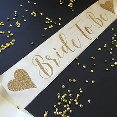Cream and Gold Bride to Be Bachelorette Party Sash with H... https://www.amazon.com/dp/B01MFF92Q4/ref=cm_sw_r_pi_dp_x_4LEkyb19HDPJN