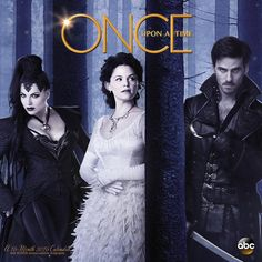 Once Upon a Time Wall Calendar | $14.99 | ABC's breakout original series brings modern fairytale drama to life. Spend the year with the characters of ABC's Once Upon a Time, including the evil queen, Snow, Emma, Hook, and more with Once Upon A Time Wall Calendar.
