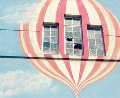 Hot Air Balloon Art  8x10 Photography Graffiti Art  by gypsyfables, $18.00