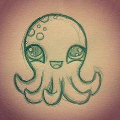 Cute octopus drawing                                                                                                                                                     More